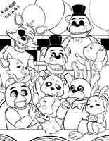 Family Nights at Freddy's! by rydi1689