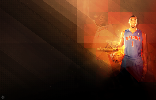 Andre Drummond by Pistonsboi