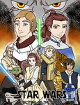 Star Wars: Destiny of the Force Cover by yinyangswings