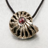 Ammonite Talisman 2 by SoulStoneDesigns