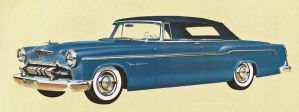 age of chrome and fins : 1955 DeSoto by Peterhoff3