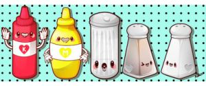 Condiments by marywinkler