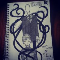 Slenderman Will find You!!! by Catnap2020