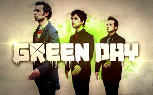 Green Day Wallpaper by fueledbychemicals