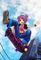 Air Skateboard by Gunyuu