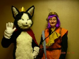 AB09 Cait Sith and other by needlesjuubei