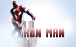 Iron Man Wallpaper With City by Flamgodian