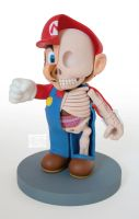 Mario 9 inch dissection by freeny