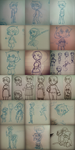 Jack Wald: The Wald family -sketch dump- by 12LE5
