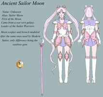 Ancient Sailor Moon by Doriya