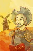 Don Quixote by SmudgeThistle