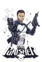 Punisher copic 2 by Thegerjoos