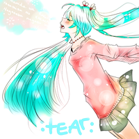 TEAR ::Miku Hatsune:: by Bippie