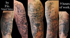 Demon Sleeve End by CakeinyourFace