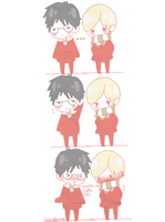 Drarry cute by Cremebunny