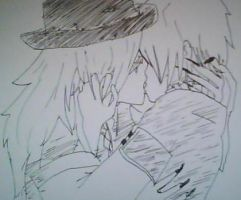 Break and Undertaker - kiss by Mellou-M