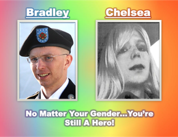 Our Great Transgender Hero! by IAmTheUnison