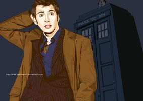 Doctor Who by StolenStars