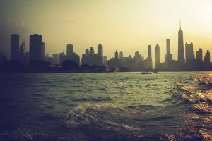 downtown of Chicago by nagomi09