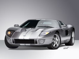 Ford GT by olivv