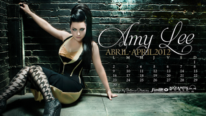 -1- April: Amy Lee by brockscence