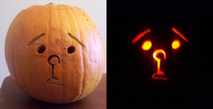 Karl Pumpkington by DarkLordSparky
