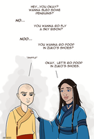 Cheer Up Emo Aang by Booter-Freak