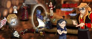 Sleazy Tavern in Azeroth... by jocarra