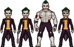 Joker , Arkham City by iradoosmeusbonecos