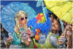 Mermaid Parade Redux by photonutz