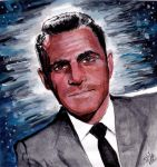 Rod Serling - Twilight Zone by smjblessing