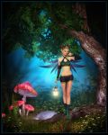 Elven Forest by kissmypixels