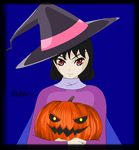 AT (AmandaDrawsArt) : Ester the Young Witch by Everything-Fan-666