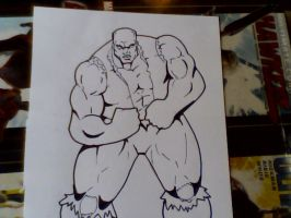 Exclusive Rocka The Black Hulk by RWhitney75
