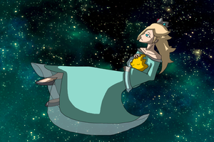 Rosalina is [almost] all alone by mortimermcmirestinks