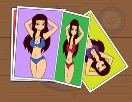 Fairy Tales - Sex Lady Cards by Dragon-FangX