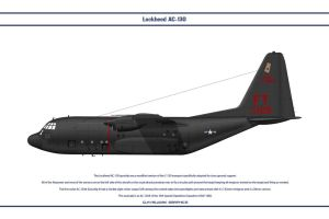 AC-130 USA 1 by WS-Clave