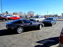 Vette,Mustang GT and a Beamer by whendt