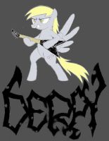 Death Metal Derpy by FriendshipIsMetal777