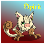 The Red Barn:  Spirit the Mankey Ref by Cattensu