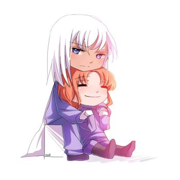 Chibi Kunzite and Zoisite by SemiMage