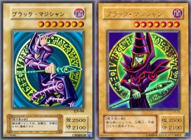 Japanese Template - In Progress (Dark Magician) by PlayStationScience