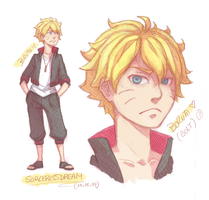 Boruto (Bolt) by SorceressDream