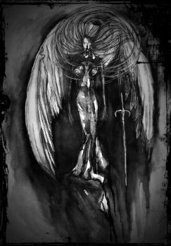 One Of The Fallen by DARK-NATUREd