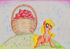 Applejack's Treasure by Arxuicy