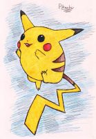 25 - Pikachu by JacobMace
