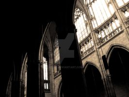 Prague Cathedral 2 by ghito