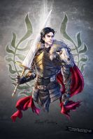 Dragon Age: Laran Cousland by croaky