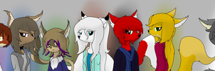 The Shadowless World: Main Cast by Dazed-and-Wandering