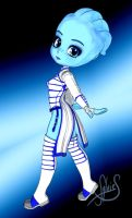Liara cookie by Luckytrefle